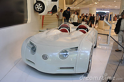 CSS Toyota Hybrid Concept Car Editorial Stock Image