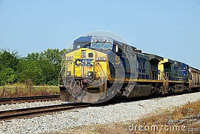 CSX Railroad Editorial Stock Image