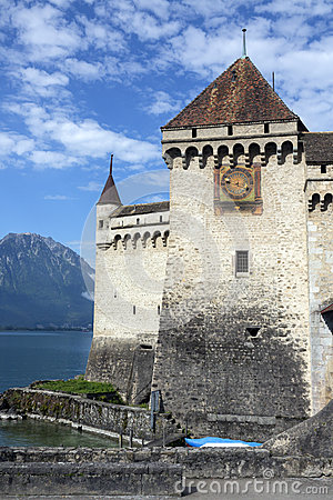 Ctateau de Chillon - Lake Geneva - Switzerland