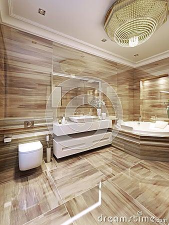Cuarto de baño moderno con jacuzzi: de ideas para baños modernos ...