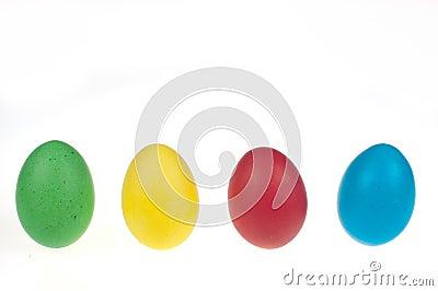 Cuatro huevos de Pascua