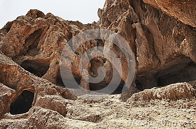 Cuatro Puertas archaeological site in Gran Canaria