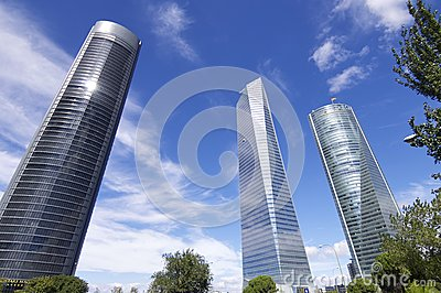Cuatro Torres Business Area Editorial Photo