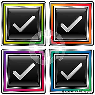 Cuatro verificaciones en cuadrados