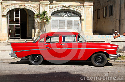 Cuba car Editorial Photo