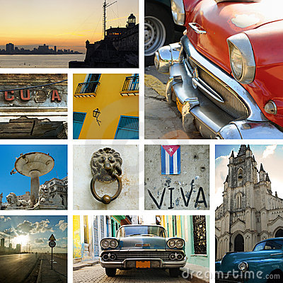 Free Cuba Collage Royalty Free Stock Images - 8974899