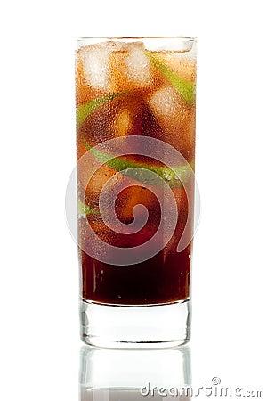 Cuba libre alcohol cocktail