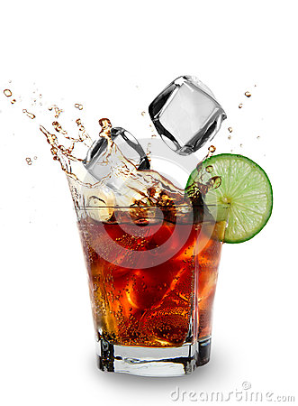 Free Cuba Libre Drink Stock Images - 25702104