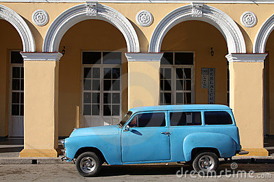 Cuba oldtimer Editorial Photo