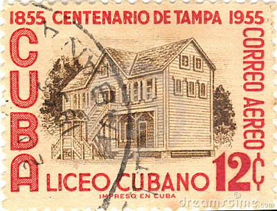 Cuba postage stamp