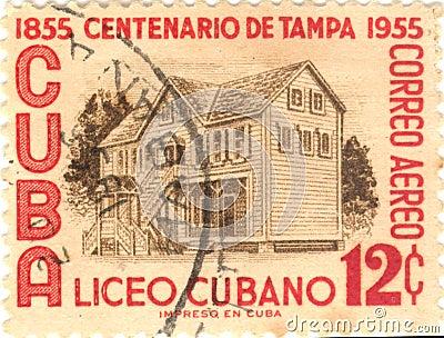 Cuba postage stamp
