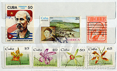 Cuba, postage Stamps