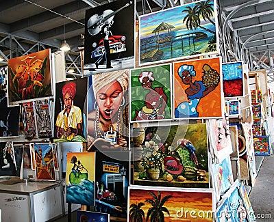 Cuban art Editorial Image