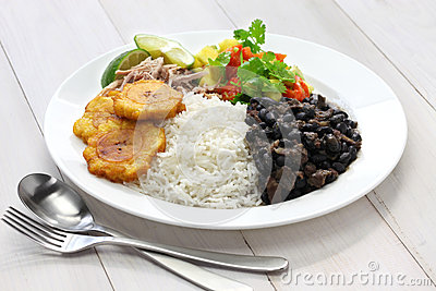 Cuban cuisine stock photo image 52706614 for Authentic cuban cuisine