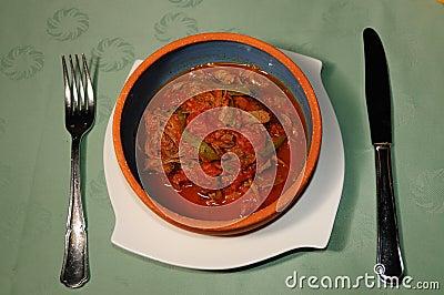 Cuban dish Ropa Vieja