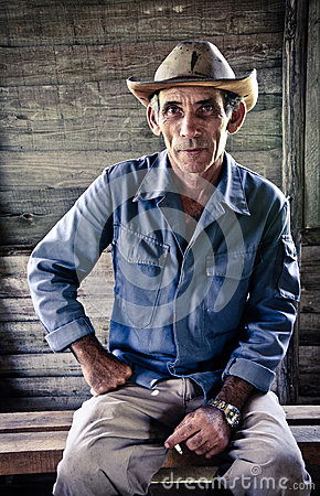 Cuban farmer Editorial Photography