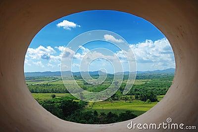 Cuban landscape - trinidad