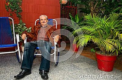 Cuban man Editorial Stock Image