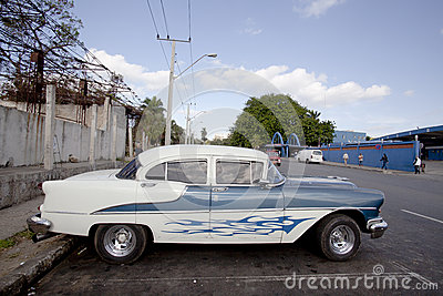 Cuban old cars Editorial Photography