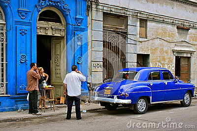 Cuban street life Editorial Image
