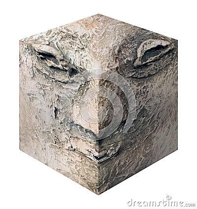 Cube head