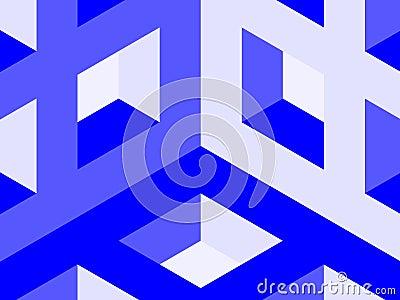 Cube lattice corner