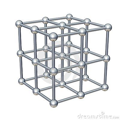 Free Cube Model Royalty Free Stock Image - 9193036