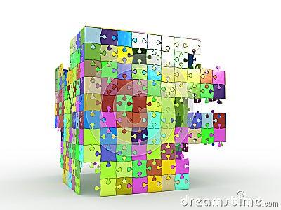 Cube puzzle №2