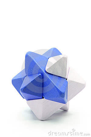 Free Cube Puzzle Royalty Free Stock Photo - 21799485