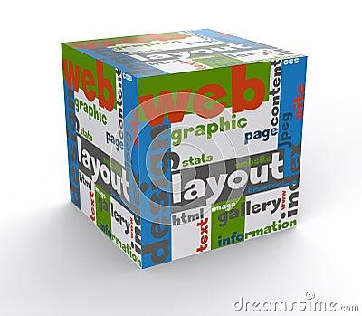 Cube web design