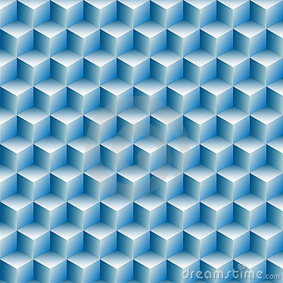 Cubes rows optical illusion background abstract