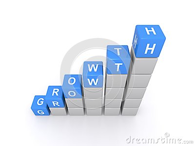Cubes spell growth