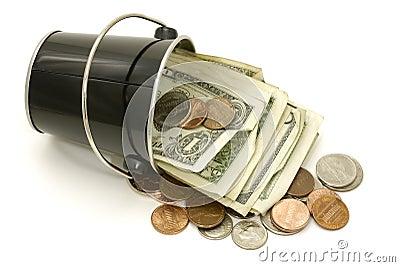 Cubeta do dinheiro