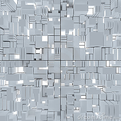 Cubic abstract background
