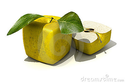 Cubic apples