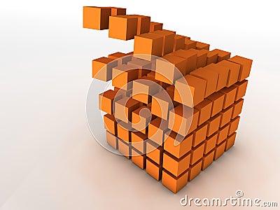 Olap information cube falling apart