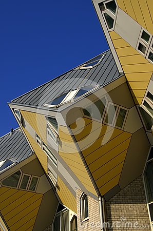 Cubic houses, Rotterdam