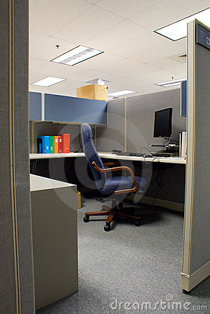 Cubicle in Office Space