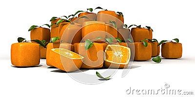 Cubistic oranges