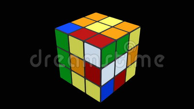 Cubo de Rubik que es solucionado