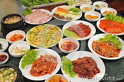 Cucina coreana fotografia stock libera da diritti for Cucina coreana