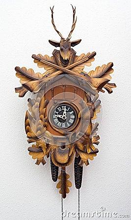 Free Cuckoo Clock Royalty Free Stock Photo - 520945