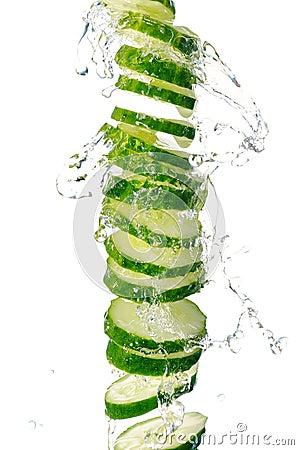 Free Cucumber Royalty Free Stock Photo - 25602745