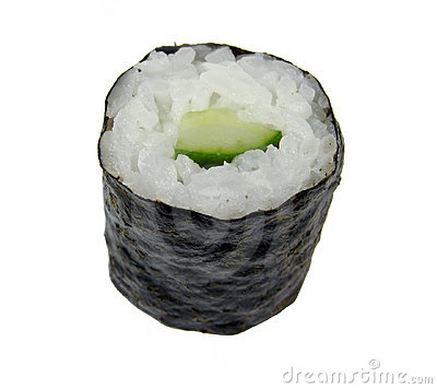 Cucumber roll sushi