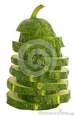 Cucumber sliced