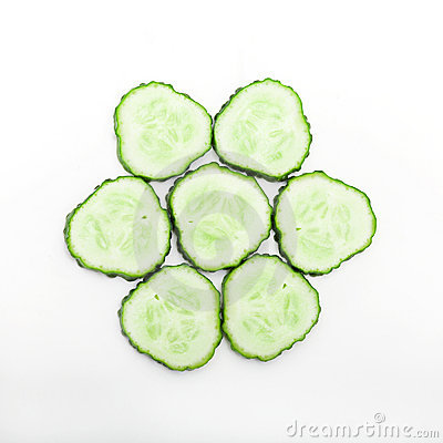 Free Cucumber Slices Stock Photo - 2640010