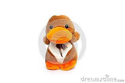 Cuddly duck gift toy