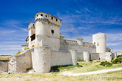 Cuellar Castle Royalty Free Stock Photo - Image: 11454635