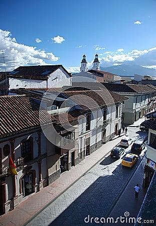 Cuenca, Ecuador Editorial Stock Image