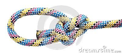 Cuerda con el nudo